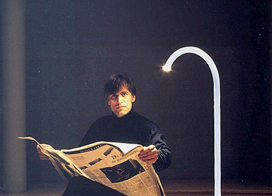 King vintage vloerlamp