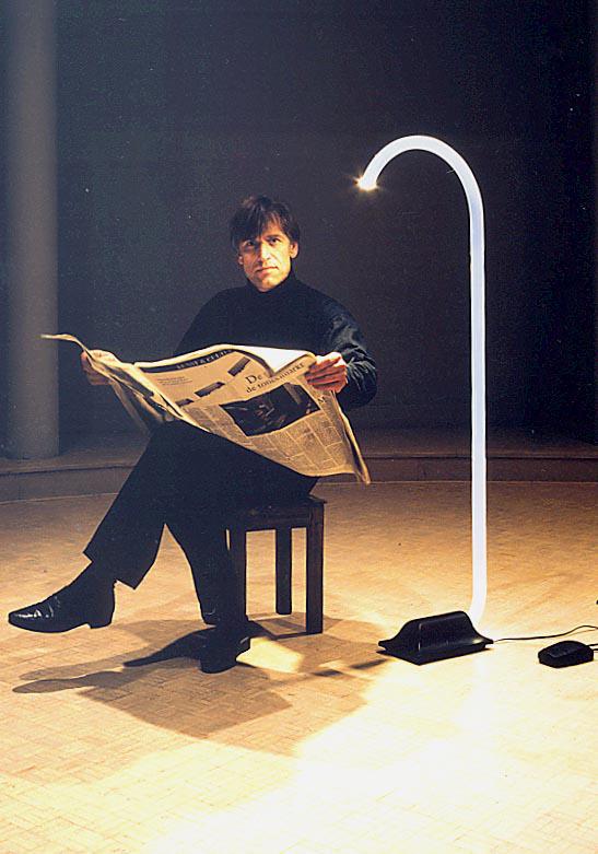 King vloerlamp