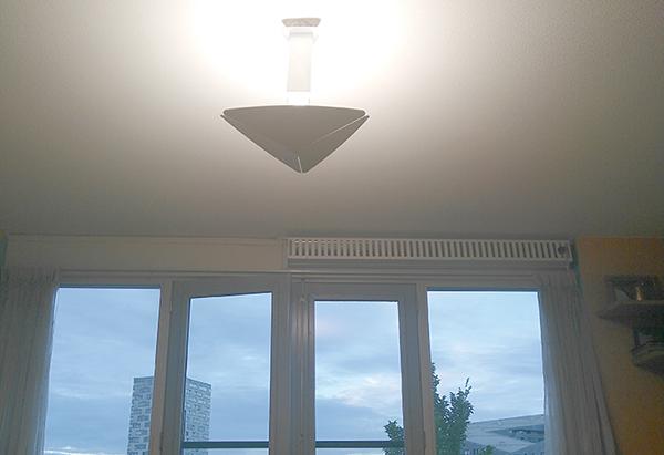 De Triloba hanglamp